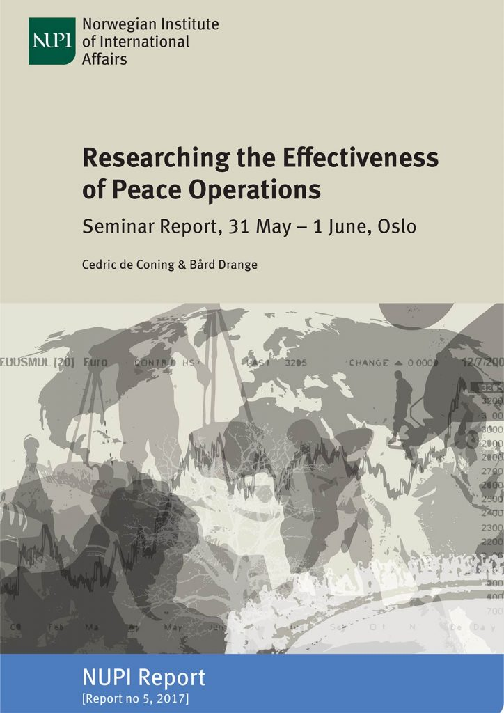 Researching Effectiveness-Peace Operations cover