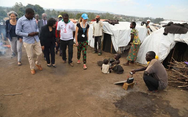 IDP Camp Bunia